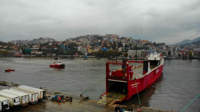 Türkiye-Rusya Arasında Çalışan Ro-Ro ilk seferini gerçekleştirdi