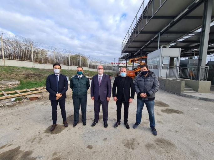 UND, Kapitan Andreevo ve Lesovo Sınır Kapılarını Ziyaret Etti