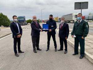 UND, Lesovo ve Hamzabeyli Sınır Kapılarını Ziyaret Etti
