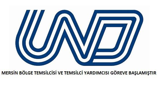 UND Mersin Bölge Temsilcisi Ve Temsilci Yardımcısı Göreve Başlamıştır