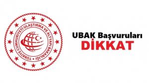 2021 UBAK İzin Belgesi Randevu Listesi Yayımlandı