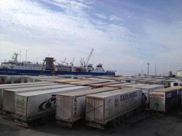 İran (Amirabad)-Kazakistan(Kuryk) Limanları Arasında Yeni Ro-Ro Hattı Kullanılmaya Başlanmıştır!