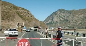 Rusya - Gürcistan Sınırı Verhniy Lars Gümrük Kapısı Bilgilendirmesi