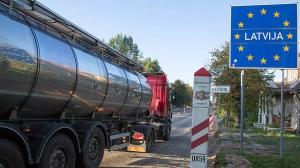 Rusya-Letonya Sınır Kapısında Son Durum