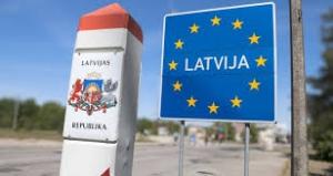Rusya-Letonya Sınır Kapısındaki Geçişlerde Yoğunluk Yaşanmaktadır