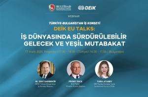 Türkiye-Bulgaristan İş Konseyi 17 Aralık Tarihinde Gerçekleşiyor