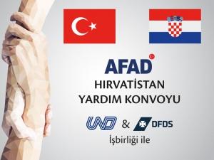 AFAD Hırvatistan Yardım Konvoyu Faaliyet Dosyası