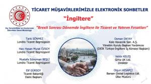 Ticaret Müşavirlerimizle Elektronik Sohbetler - İngiltere