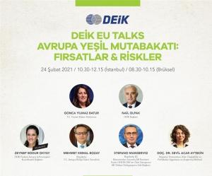 Deik EU Talks Avrupa Yeşil Mutabakatı: Fırsatlar & Riskler Webinarı