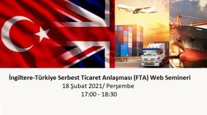 İngiltere-Türkiye Serbest Ticaret Anlaşması (FTA) Web Semineri