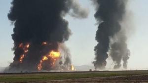 İran Makamlarından Herat Gümrüğünde Çıkan Yangın ile İlgili Bilgilendirme