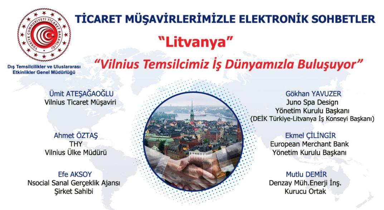Ticaret Müşavirlerimizle Elektronik Sohbetler-Litvanya