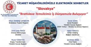 Ticaret Müşavirlerimizle Elektronik Sohbetler-Slovakya