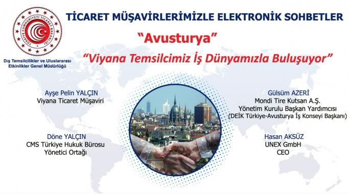 Ticaret Müşavirlerimizle Elektronik Sohbetler - Avusturya