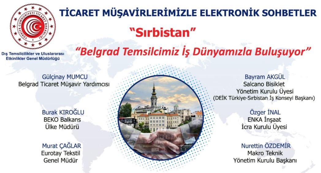 Ticaret Müşavirlerimizle Elektronik Sohbetler-Sırbistan