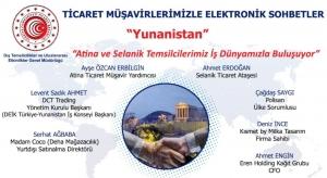 Ticaret Müşavirlerimizle Elektronik Sohbetler-Yunanistan