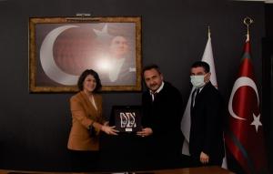 UND, Ege Gümrük ve Dış Ticaret Bölge Müdürlüğüne Atanan Sayın Aliye Öztürk'ü Ziyaret Etti