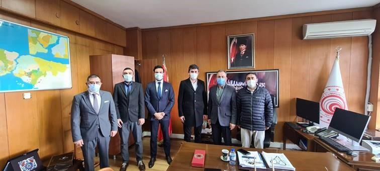 UND, Kaçak Göçmen Sorununu Erenköy Gümrük Müdürü İle Görüştü
