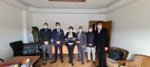 UND, Erenköy Gümrük Sahasındaki Güvenlik Önlemlerini Tasiş İle Görüştü