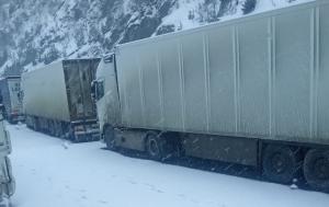 Verkhniy-Lars Sınır Kapısında Yoğun Kar Yağışına Dikkat!