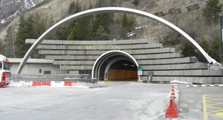 Mont Blanc Tüneli Bakım Çalışması