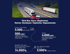 Türkiye - Rusya KUKK Toplantısı Gerçekleştirildi