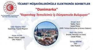 Ticaret Müşavirlerimizle Elektronik Sohbetler-Danimarka