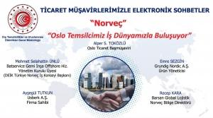 Ticaret Müşavirlerimizle Elektronik Sohbetler - Norveç