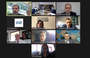 UND, Azerbaycan Derneği ABADA ile Azerbaycan Taşımalarını ve Hazar Koridorunu Görüştü
