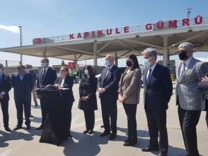 UND Başkanı Nuhoğlu, Ticaret Bakan Ruhsar Pekcan ile Kapıkule Saha Ziyaretinde Bulundu