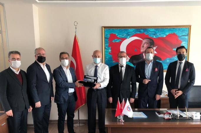 UND, Göreve Yeni Başlayan Muratbey Gümrük Müdürü Arif Kemal Eyüpoğlu'nu Ziyaret Etti