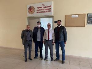 UND Heyeti Gaziantep Gümrük Bölge Müdürlüğünü Ziyaret Etti