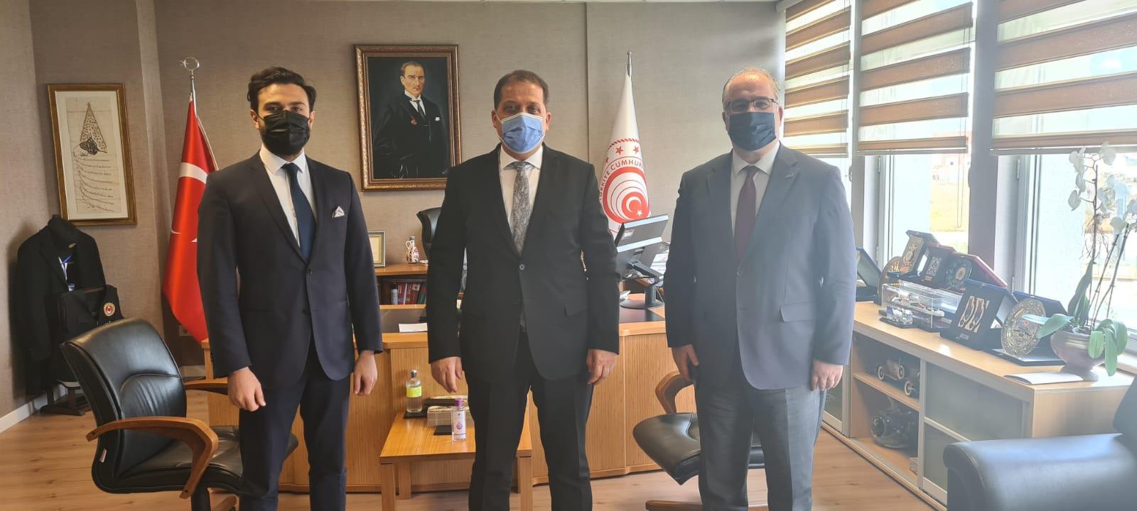 UND, İstanbul Gümrük ve Dış Ticaret Bölge Müdürü Sayın Yalçın Özden ile Sınır Kapılarında ve Gümrüklerdeki Gelişmeleri Değerlendirdi