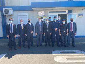 UND, Belgrad Büyükelçimiz Hami Aksoy İle Birlikte  Batrovci Sınır Kapısında, Türk Tır'larının Sınır Geçişlerini Sırbistan Gümrük Makamlarıyla Görüştü