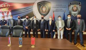 UND, Belgrad Büyükelçimiz Hami Aksoy ile Birlikte Sırbistan Sınır Polisi İdaresi Makamlarıyla Kaçak Göçmen Sorununu Görüştü