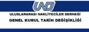 UND Genel Kurul Tarih Değişikliği / 24 Haziran 2021