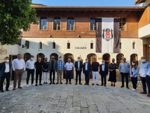 UND Hatay Yönetim Kurulu Üyeleri Hatay Sanayici İş İnsanları Derneği'ni Ziyaret Etti