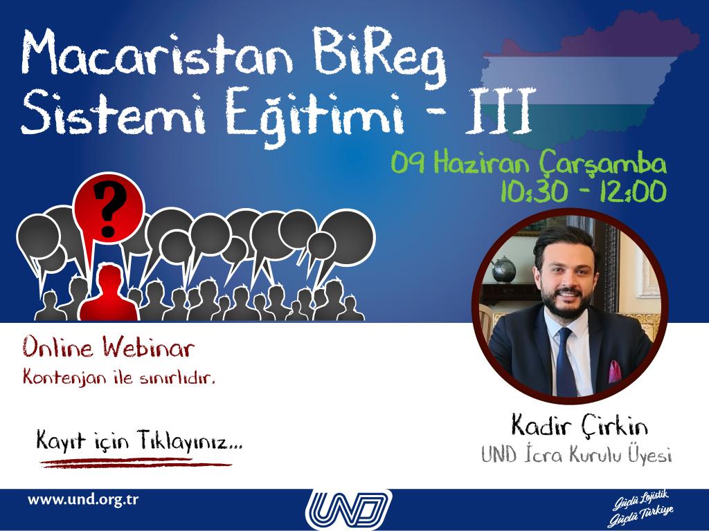 Macaristan BiReg Sistemi Eğitimi