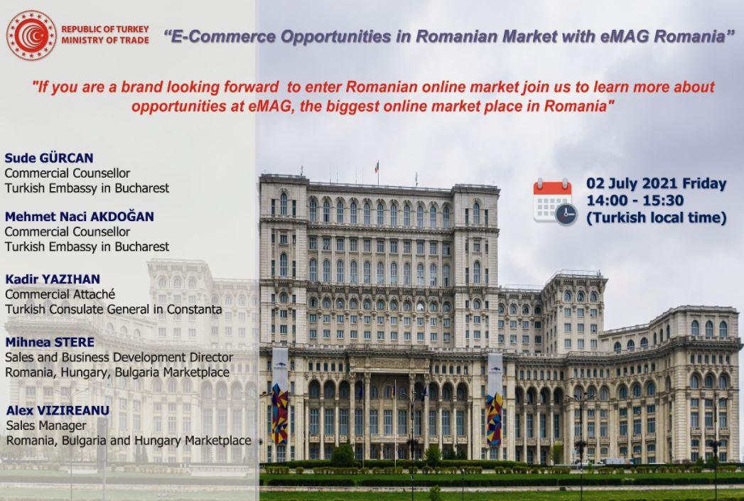 Ticaret Müşavirlerimizle Elektronik Sohbetler-Romanya-2