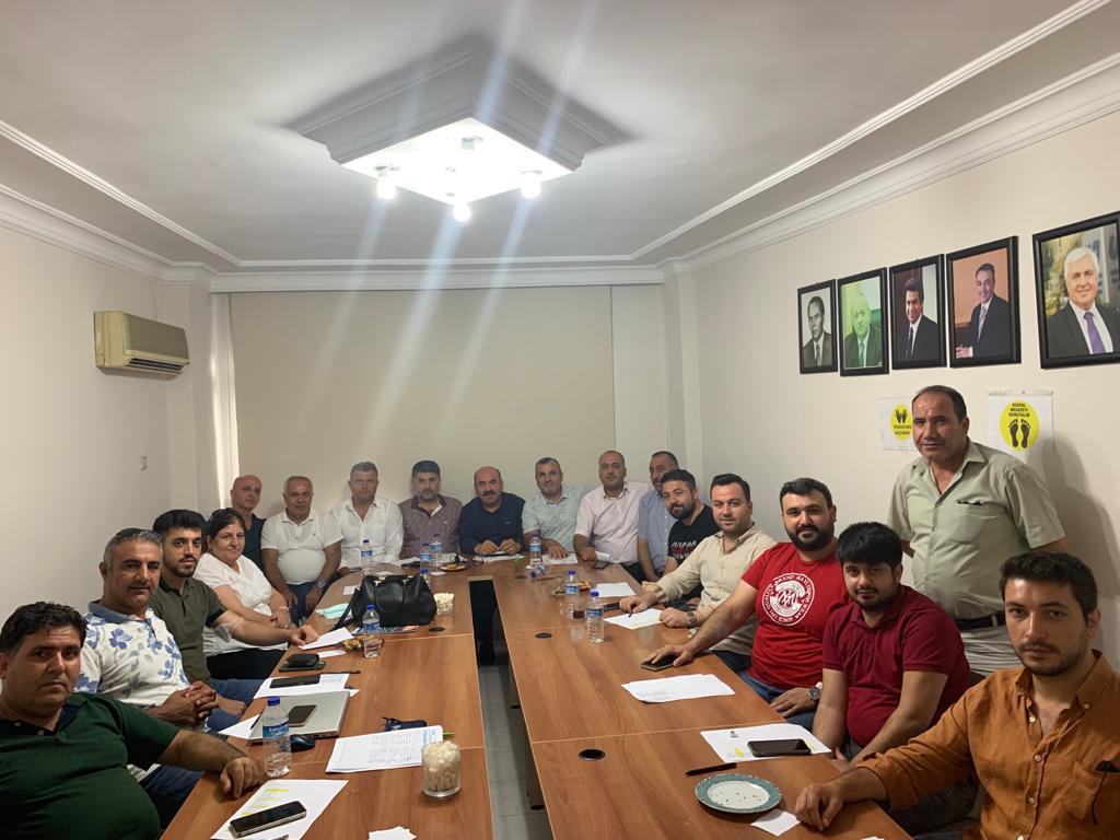 Mersin Çalışma Grubu ve İran-Irak-Afganistan-Orta Asya Ülkeleri Çalışma Grubu Toplantıları Gerçekleştirildi