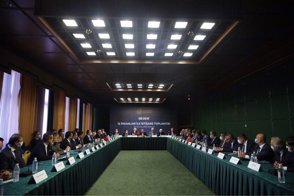 UND, Tedarik Zincirinin Güçlendirilmesi İçin Rusya'daydı