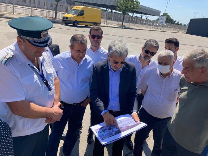 UND Yönetim Kurulu Başkanı Çetin Nuhoğlu Kapıkule-Kapitan Andreevo Sınır Geçişlerini Yerinde İnceledi