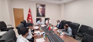 UND Yönetim Kurulu Başkanı Çetin Nuhoğlu Lesovo Sınır Kapısındaki İyileştirme Çalışmalarını Yerinde İnceledi