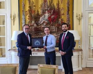 UND, Fransa Ulaştırma Bakanı Sayın Jean-Baptiste Djebbari ile Görüştü