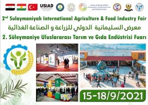 Duhok - Erbil - Kerkük , Süleymaniye - Halepçe Ticaret Forumu ve 2.Süleymaniye Uluslararası Tarım ve Gıda Endüstrisi Fuarı