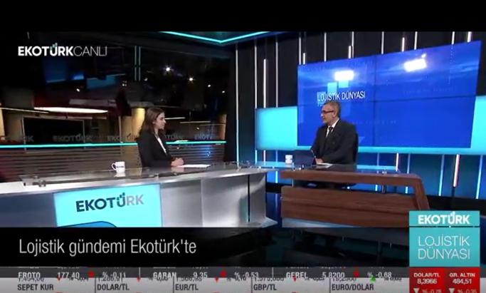 Lojistik Dünyası Programında Kazakistan Sorunu Gündeme Alındı