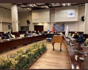 """UND, """"Orta Asya Sürdürülebilir Taşımacılık"""" Toplantısında Ulaştırma, Ticaret, Dışişleri ve Sağlık Bakanlığı Yetkilileri ile Bir Araya Geldi"""