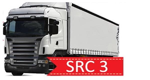 SRC3 Uluslararası Yük, Eşya, Kargo Taşımacılığı Şoför Mesleki Yeterlilik Eğitimi