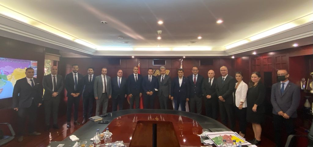 Ticaret Bakanlığı Uluslararası Hizmet Ticareti Genel Müdürü ve Heyetinden UND'ye Ziyaret