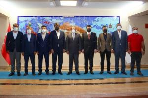 UND Mardin-Şırnak Çalışma Grubu Üyeleri Resmi Kurumları Ziyaret Etti